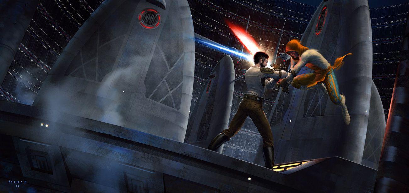 Star Wars Jedi Knight Ii Jedi Outcast By Atarts Deviantart Com On