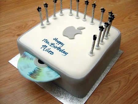 27 Beautiful And Creative Cake Designs Computer Cake Mac Cake Creative Cakes