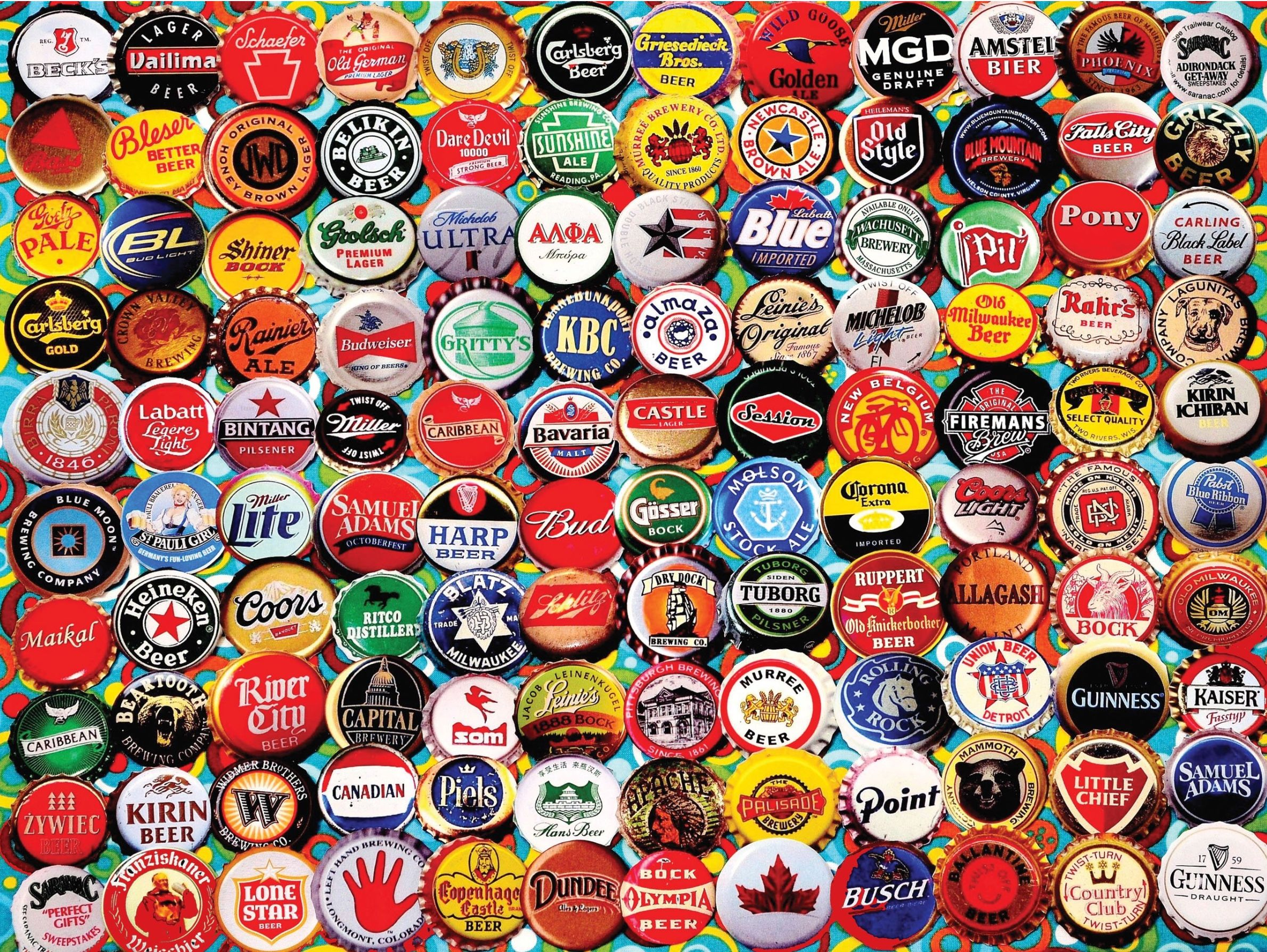 Pin By Sally Williams On Puzzles Beer Caps Beer Bottle Beer Bottle Caps