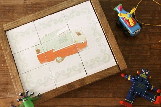 Make Your Own Puzzle fun Pinterest