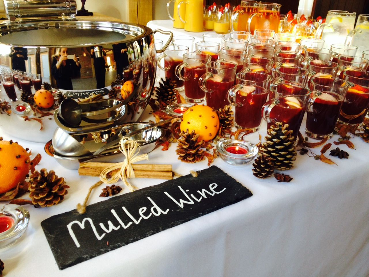 Perfect Autumn Option... Mulled Wine Station