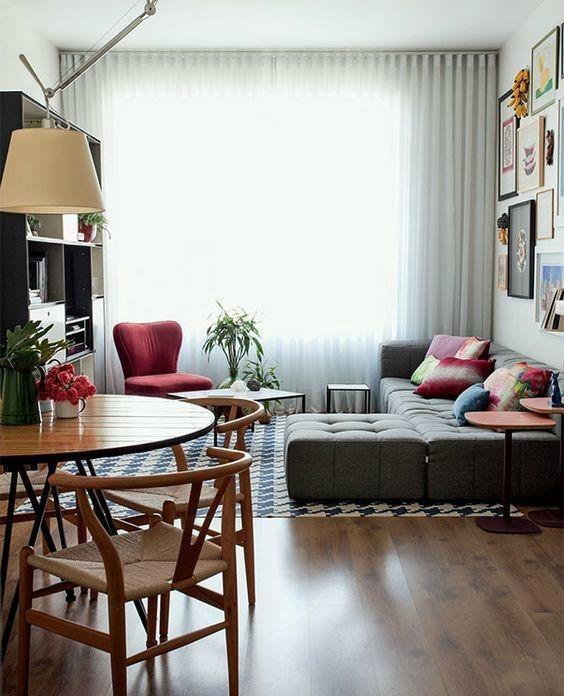 orillas departamento pequeno sala Deco y Ideas Para Interiores e