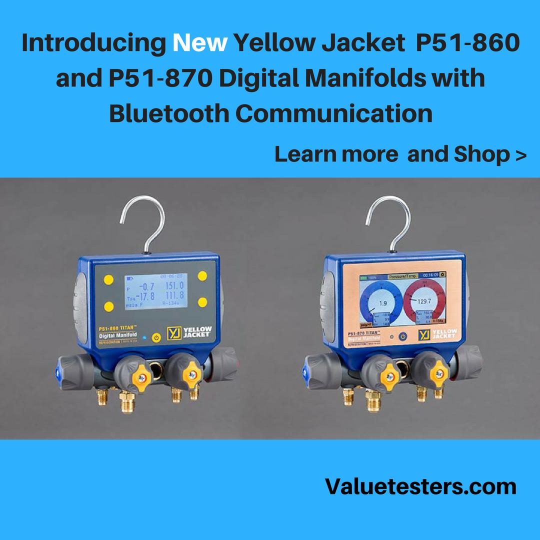 Introducing New Yellow Jacket P51860 and P51870 Digital