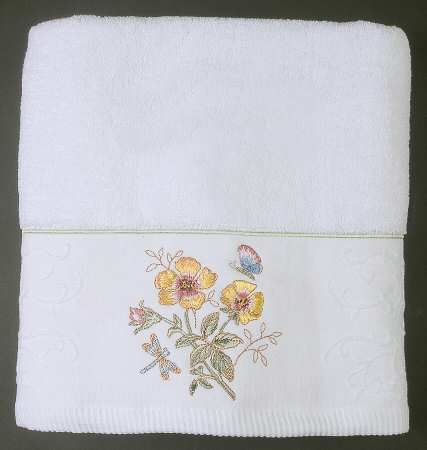 Lenox Butterfly Meadow Bath Towel Lenox Butterfly Meadow Fine