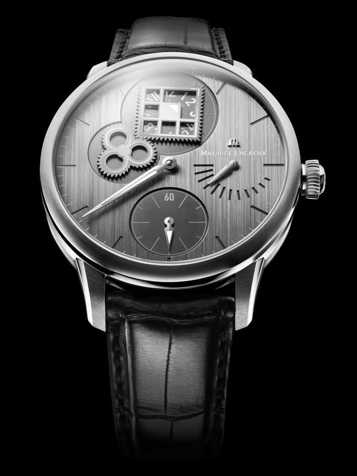 Maurice Lacroix Unveils Revolutionary Masterpiece Regulateur Roue Carree Watch