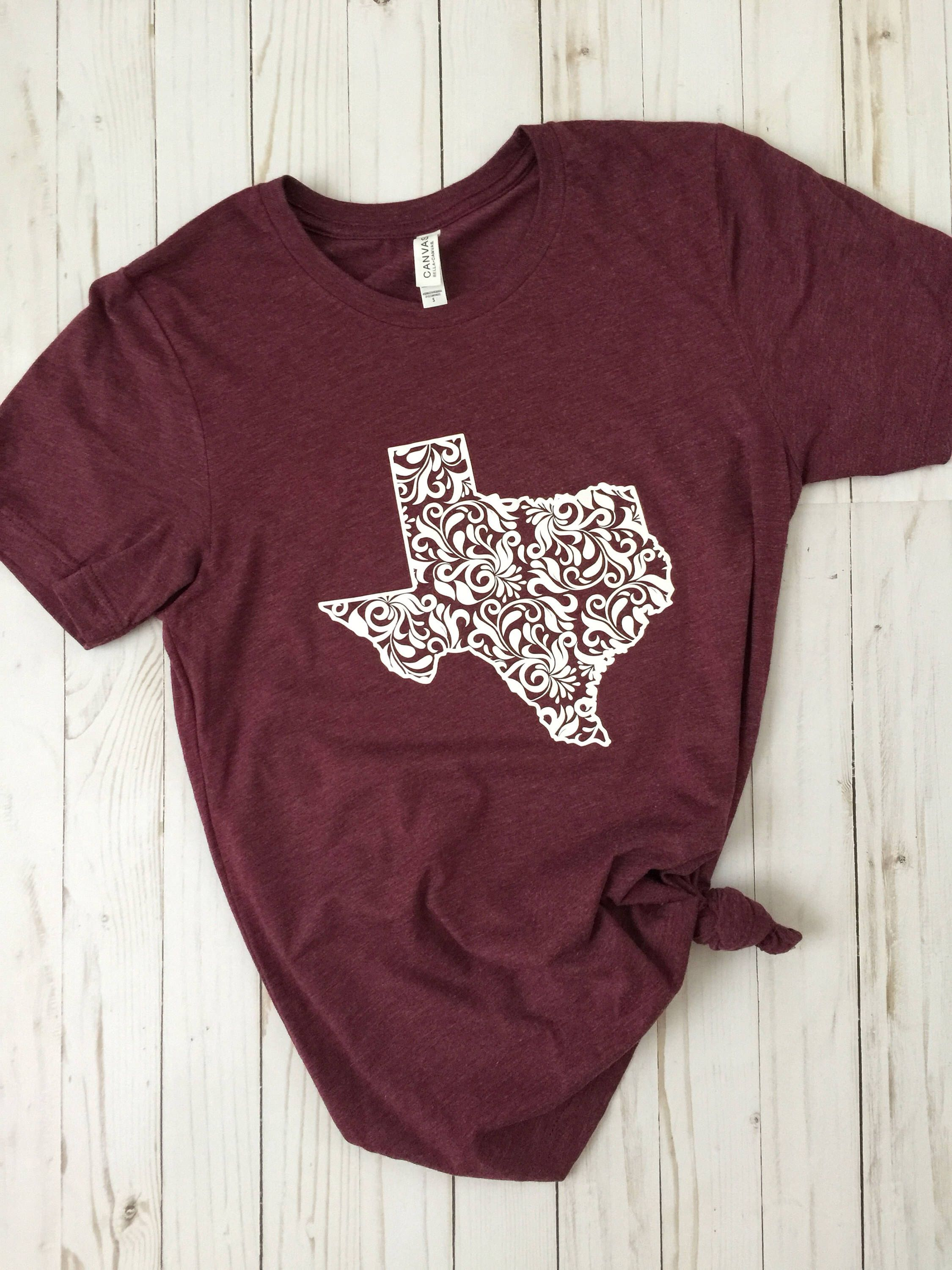 fdc8091d Pin by Kerra Kurtz on Clothes & Shoes | Texas shirts, Maroon shirts ...