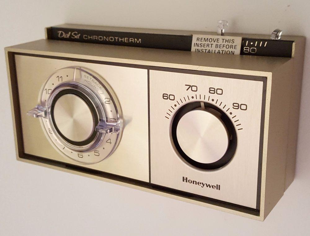1976 Honeywell Chronotherm vintage thermostat Vintage
