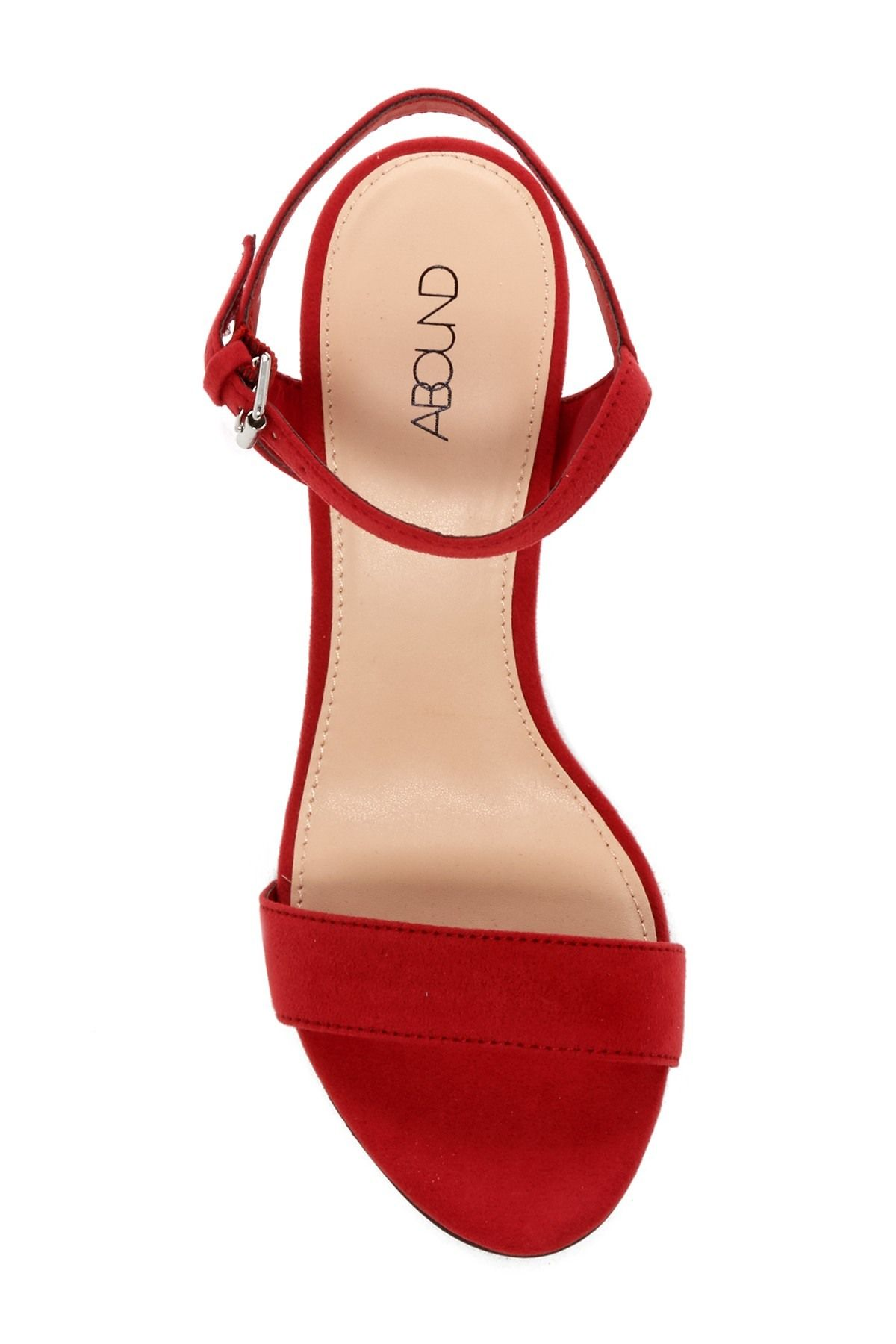 baf5e2d1d6c Abound - Steph Faux Suede Block Heel Sandal. Free Shipping on orders over   100.