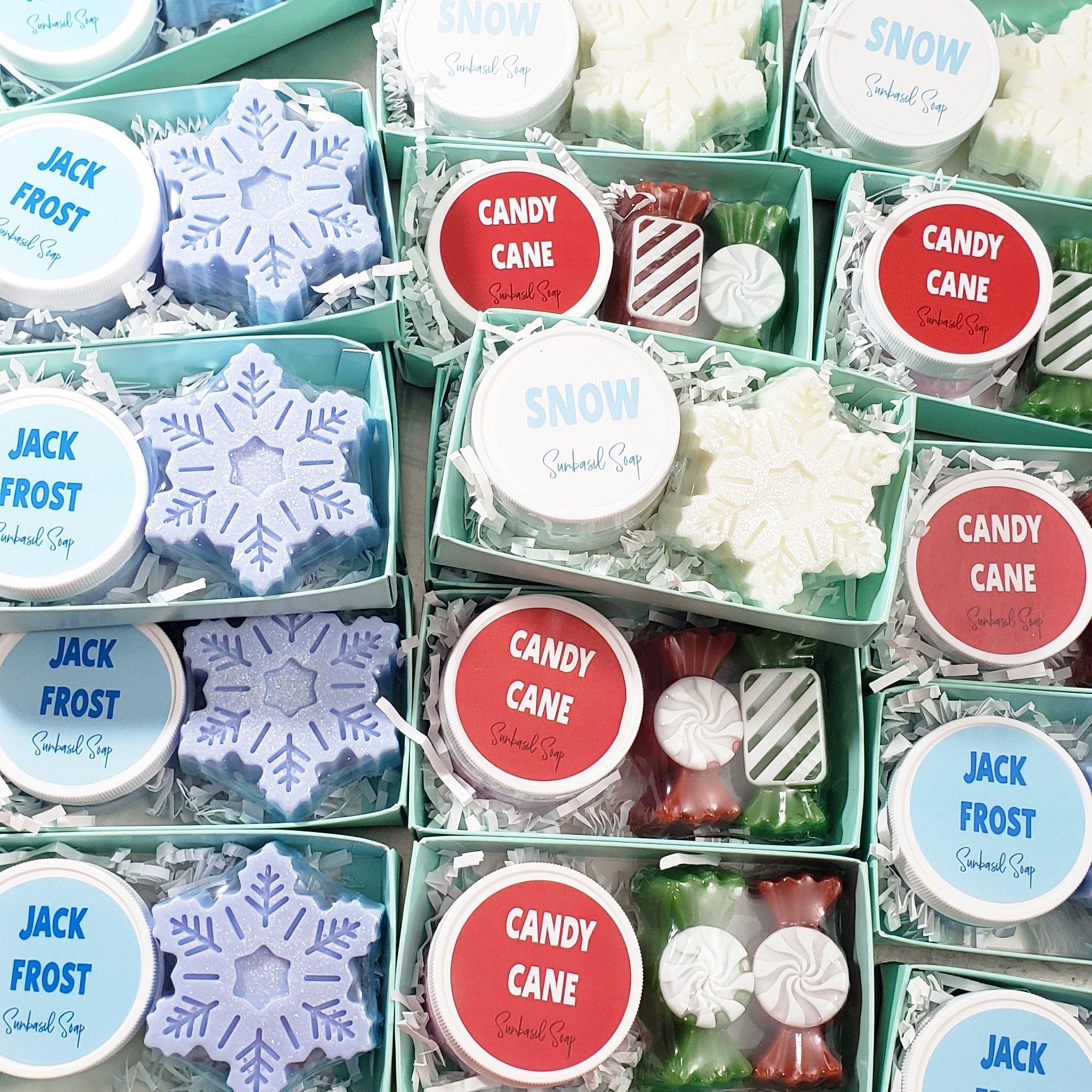 Sunbasil Soap Bath And Body Gifts Handmade Soap Gift Sets Small Christmas Gifts Handmade Soap Gift Set Handmade Soap Gifts