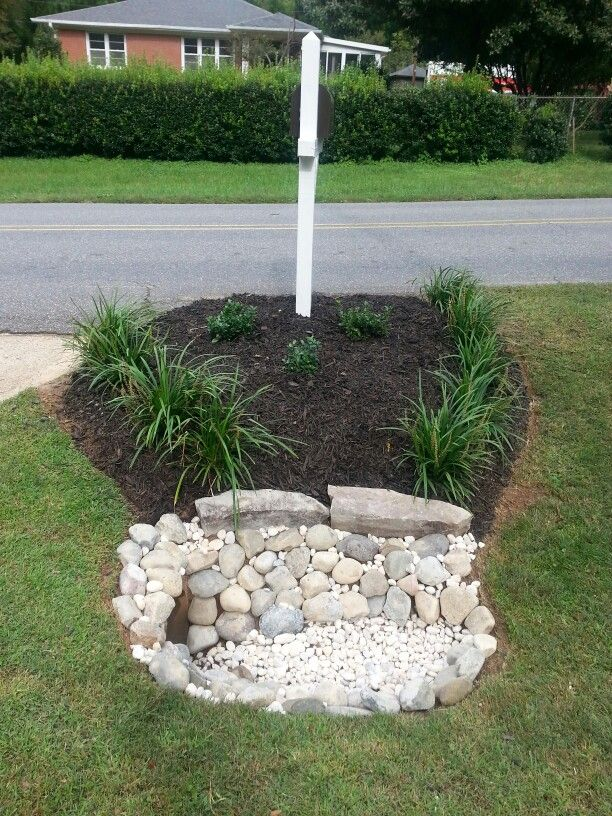 mailbox and culvert project