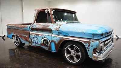 eBay: Chevrolet: C-10 Fleetside 2-Door **Blue Patina Classic** Short Bed, 4-Spee…