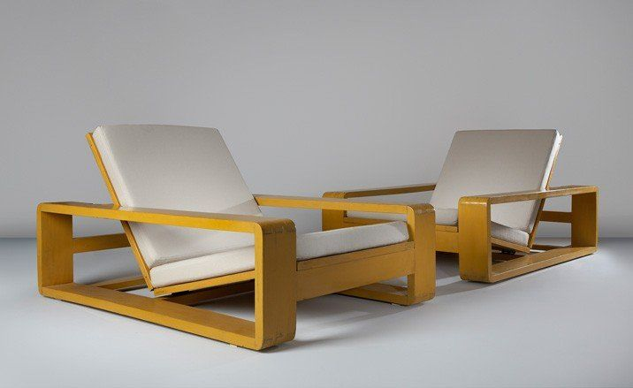 Jean Royere lounge armchairs
