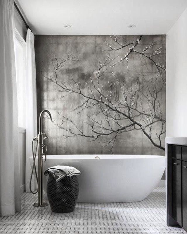 Fernandoleonespacios Bano Blackandwhite Bath Imagine