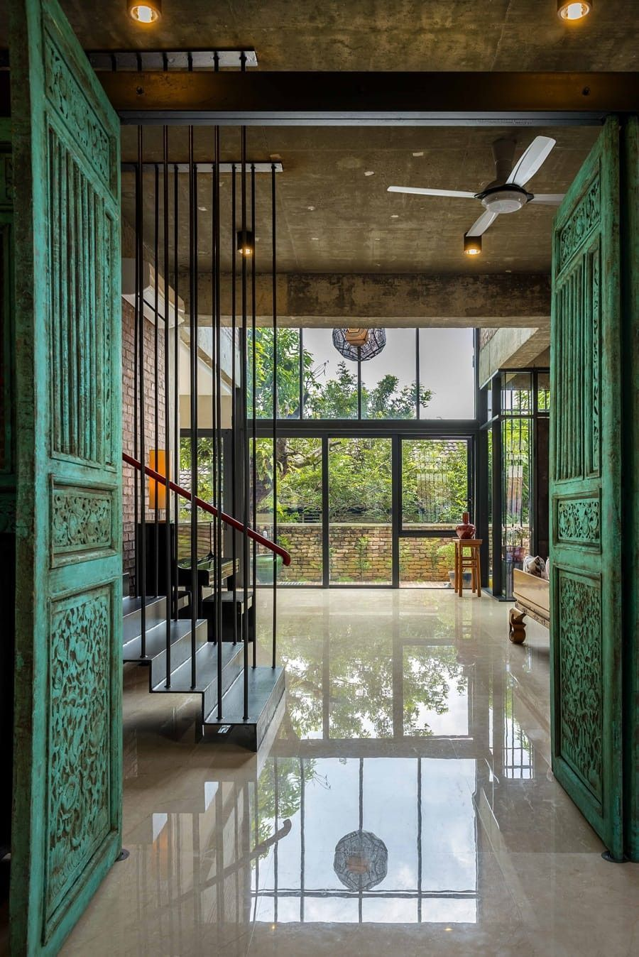 Clay Roof Tile House by DRTAN LM Architect House roof
