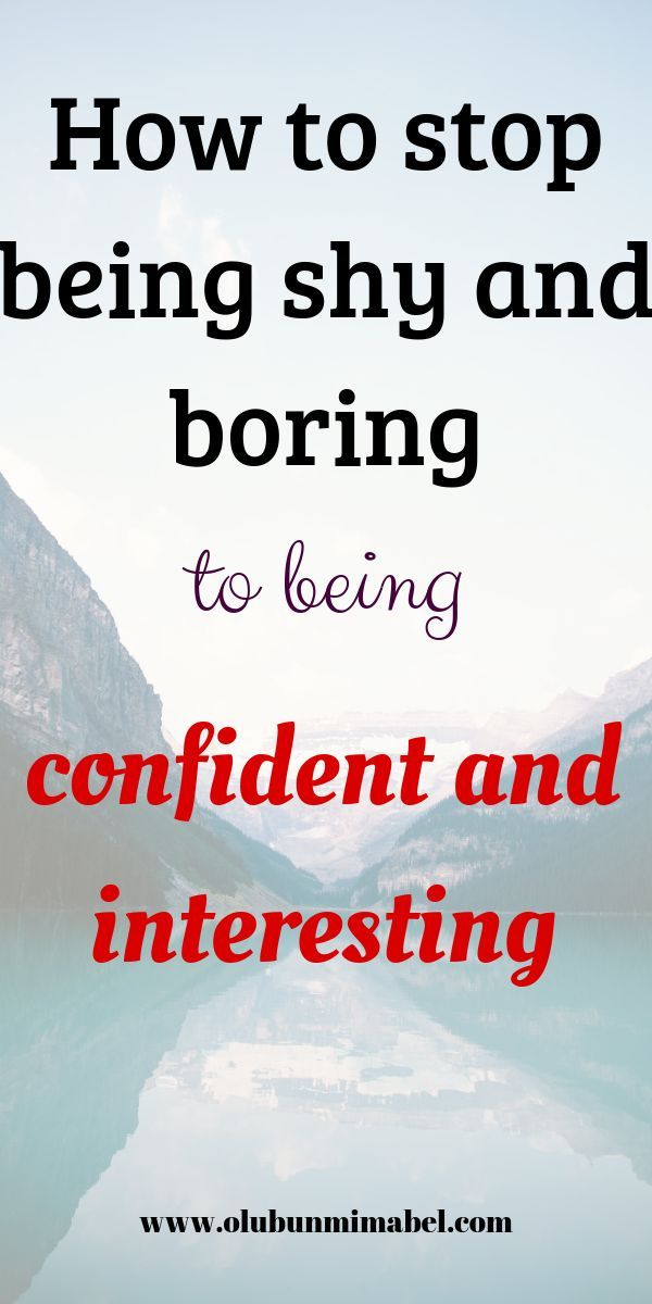 How to Overcome Timidity and Be More Confident