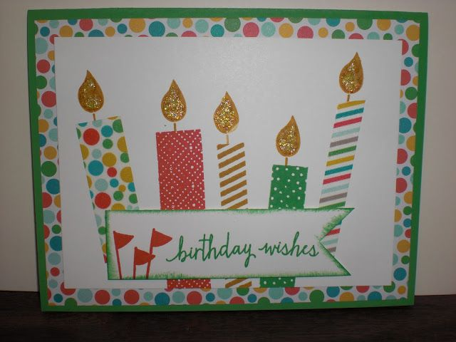 Build a Birthday stamp set