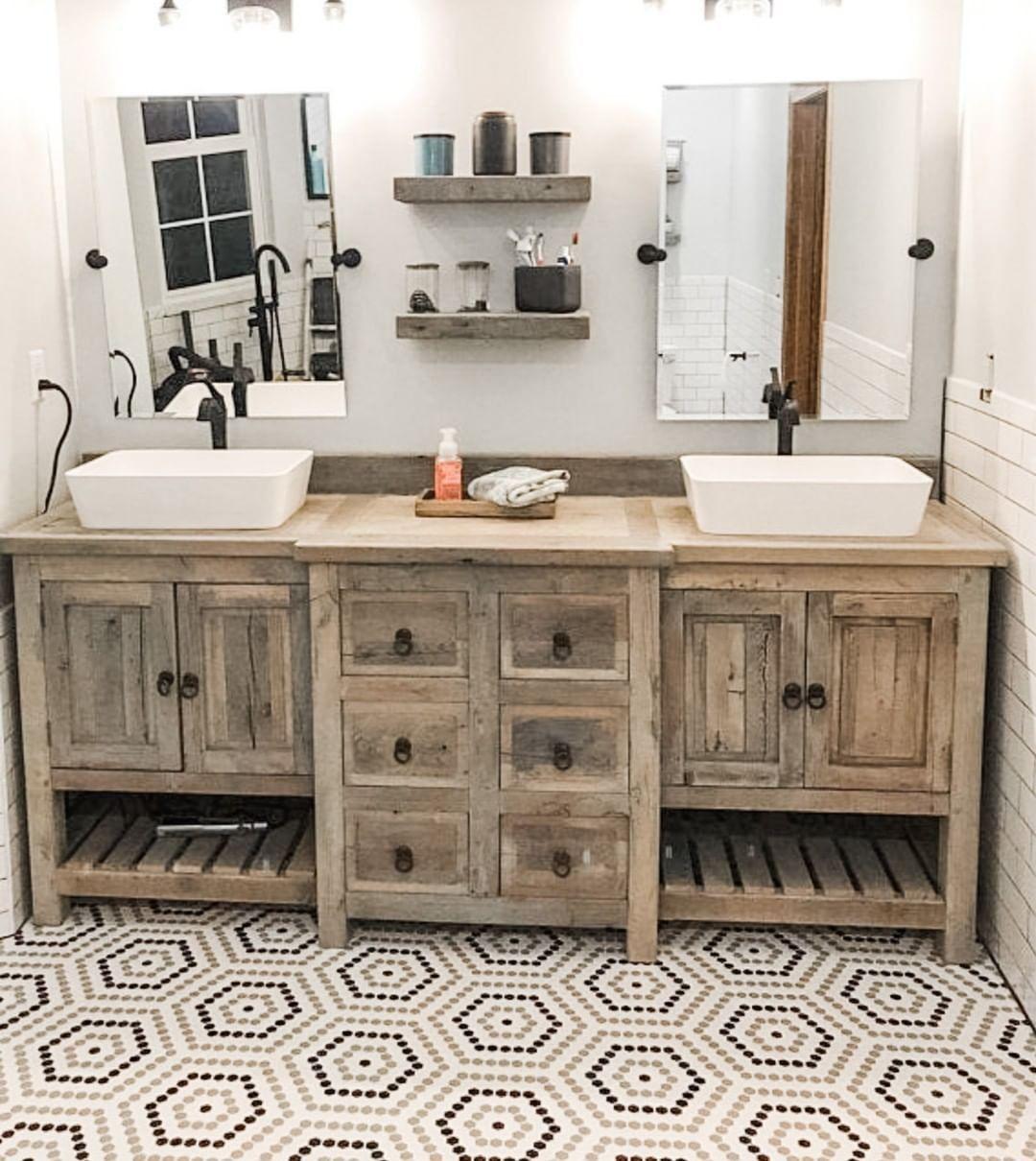 20++ Rustic bath vanities custom