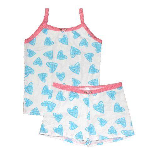 Esme Girl's Sleepwear Camisole / Boxer Shorts Pajama set