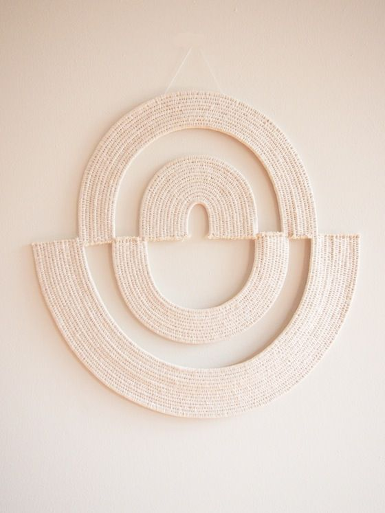 Image of Woven Wall Art- The White on White Collection