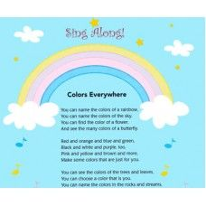 Colores En Todo Is A Preschool Learning Song About Knowing All Of