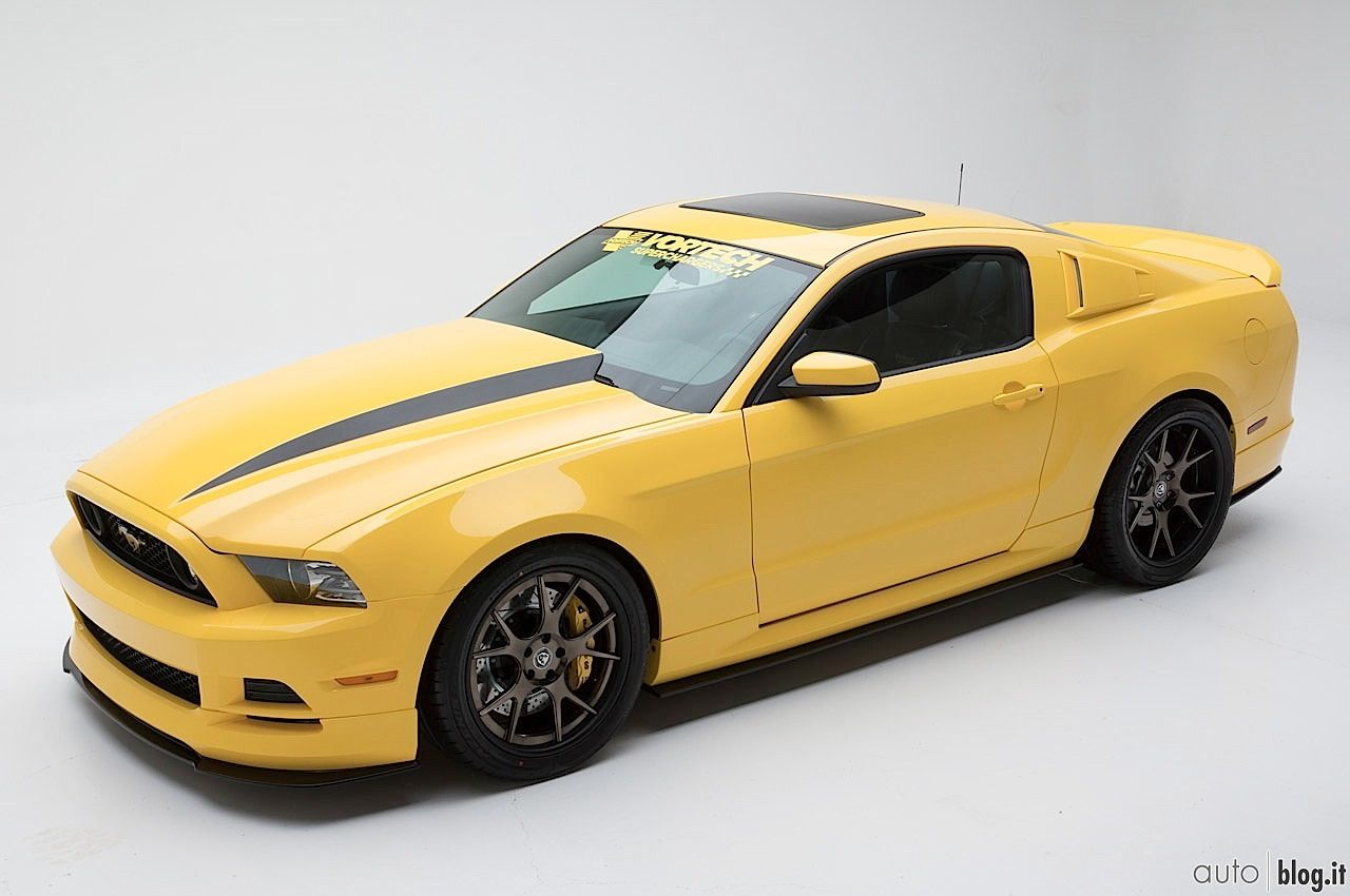 Ford Mustang Yellow Jacket by Vortech