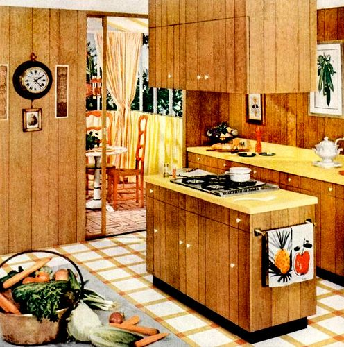1960s Kitchens here's some examples of fabulous ' 60s era kitchens borrowed from