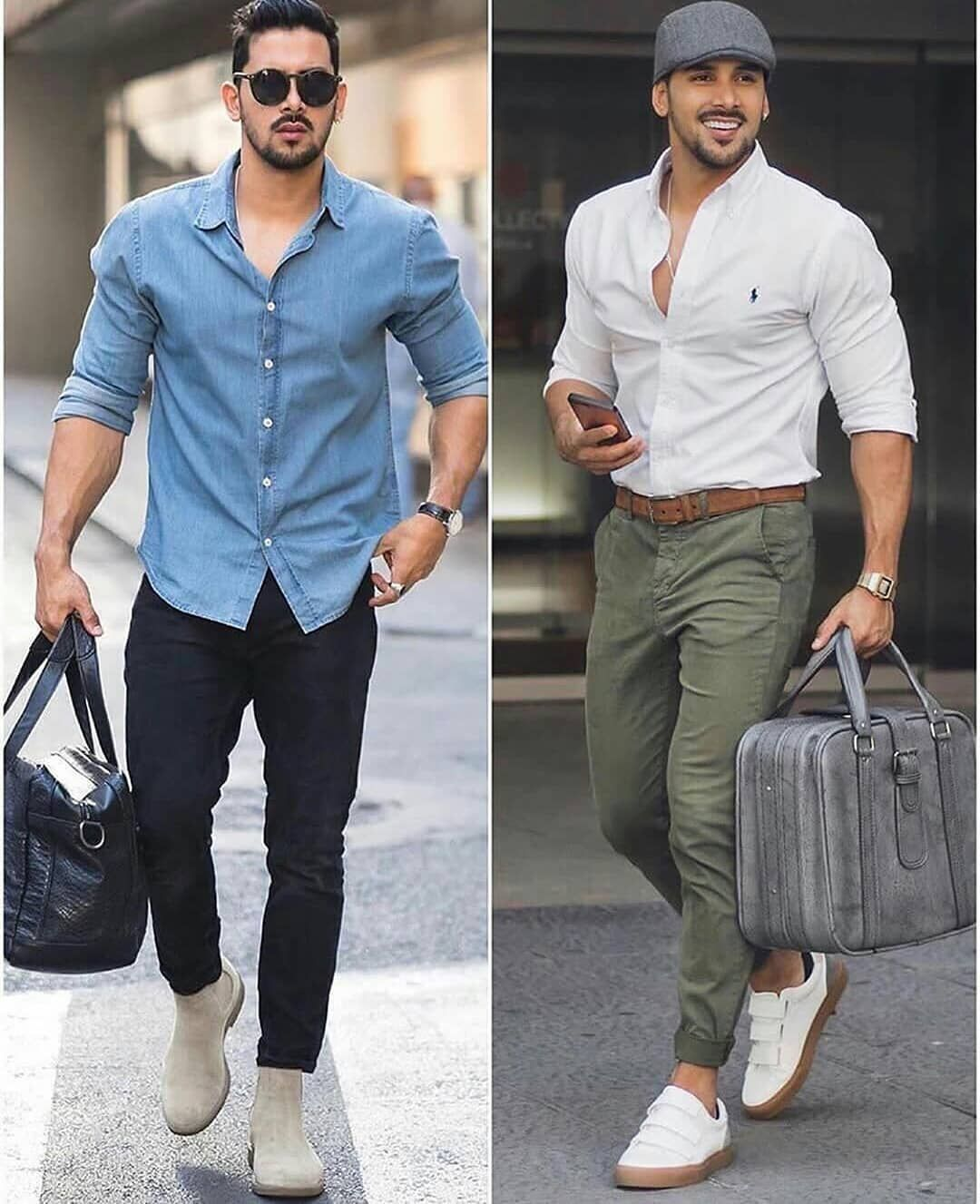 Pin By Bolivar Palomeque On Moda Hombre In 2020 Casual Wear For Men Mens Outfits Latest Mens Fashion Trends