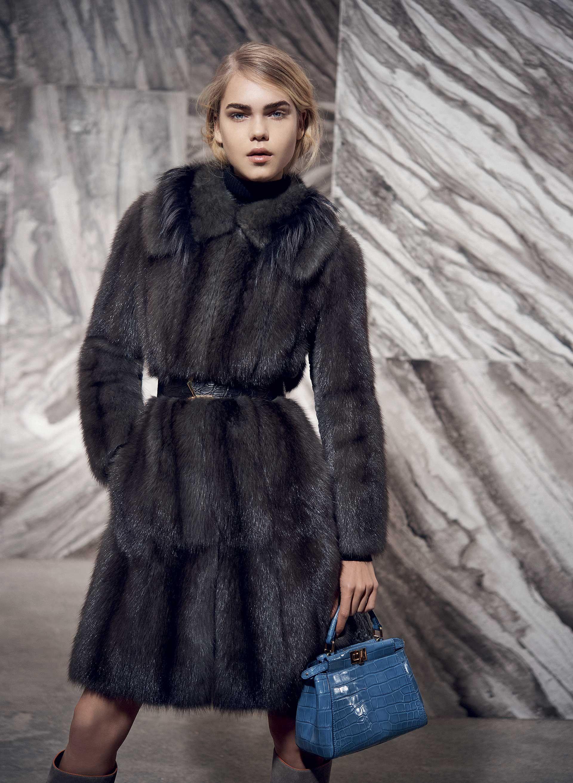 Fendi 201516 collection fur fashion designer outfits
