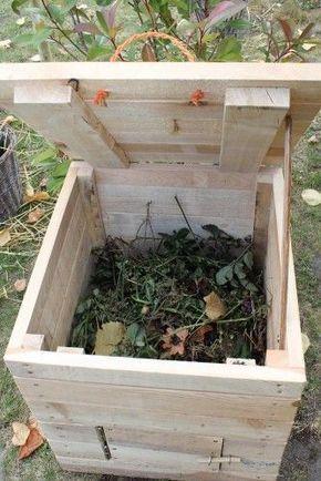 Construire un coffre à compost en cette saison est aussi d\u0027actualité