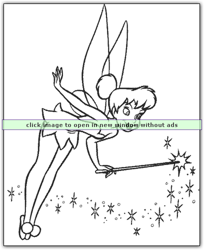 We have Tinkerbell and all her fairy friends. 100\'s of coloring ...