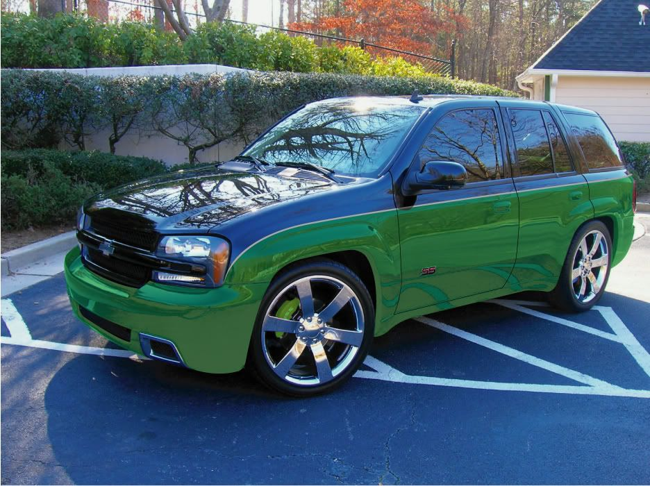 lime green 2002 trailblazer -   I like me a good ride! ;)   Pinterest   Chevy trailblazer, Chevy ...