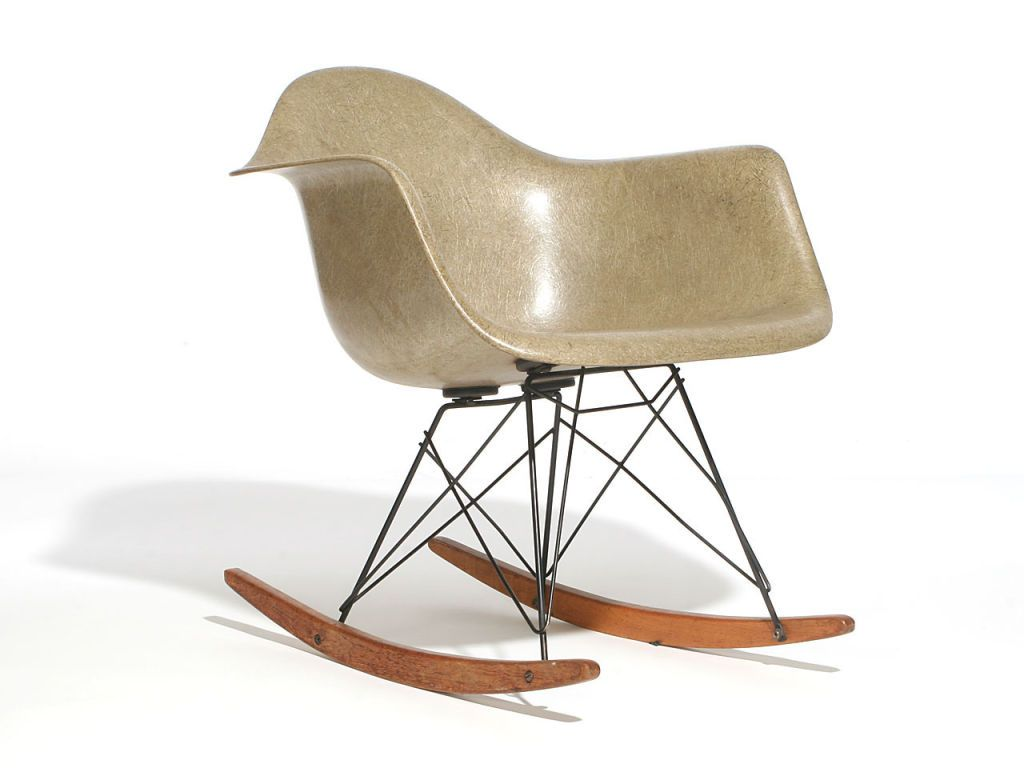 Zenith Shell Rocking Chair RAR By Charles And Ray Eames