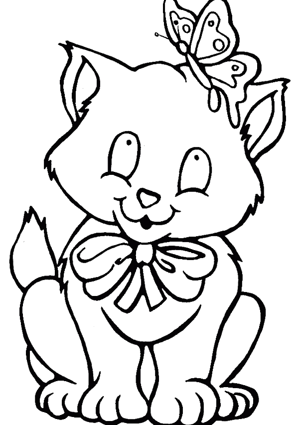 Cat coloring page image by Daniela Vasile on Cats &Dogs in
