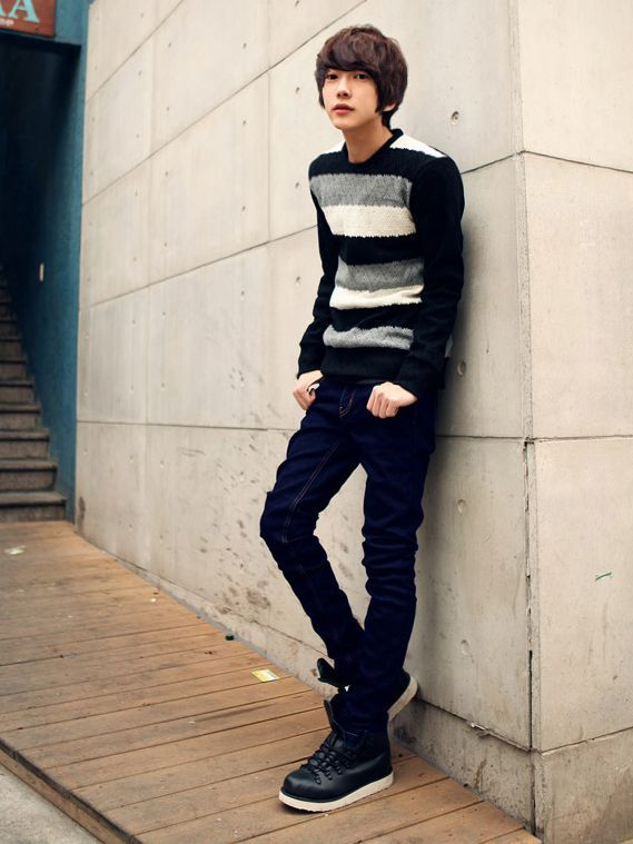 170f1209d23 Korean Style For Men With Skinny Jeans