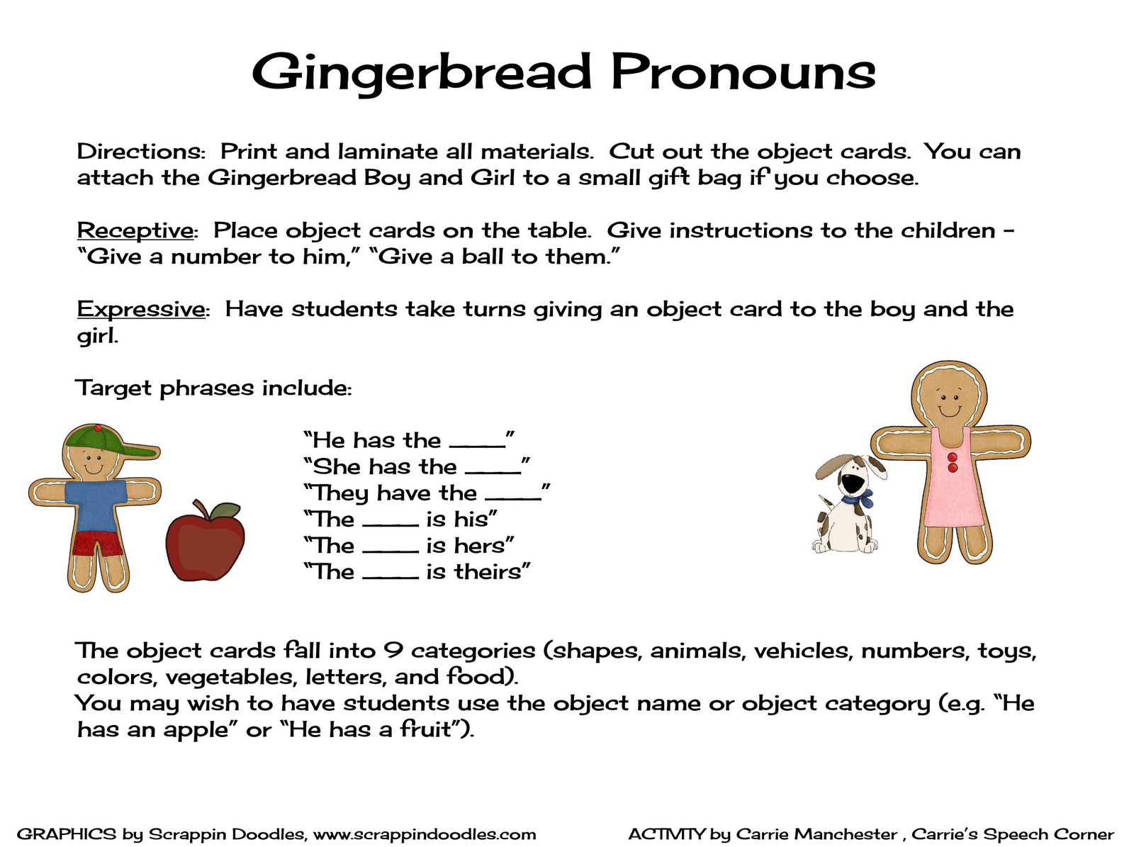 Gingerbread Speech And Language Unit