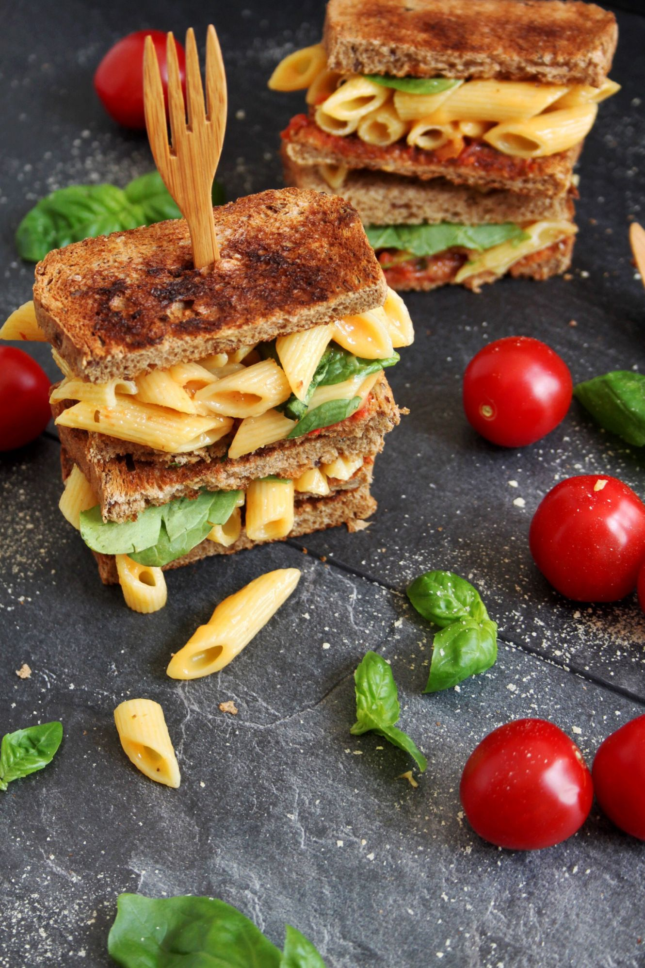 Vegan Mac And Cheese Toast With Images