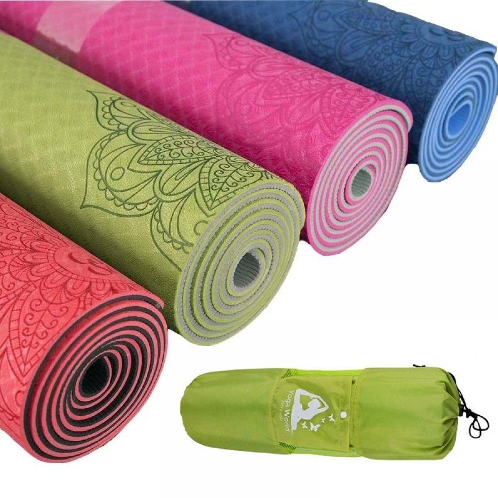 Yoga Mat With Bag Price 56 95 Free Shipping Metaphysical1 Mat Exercises Yoga Mats Best Sport Mat
