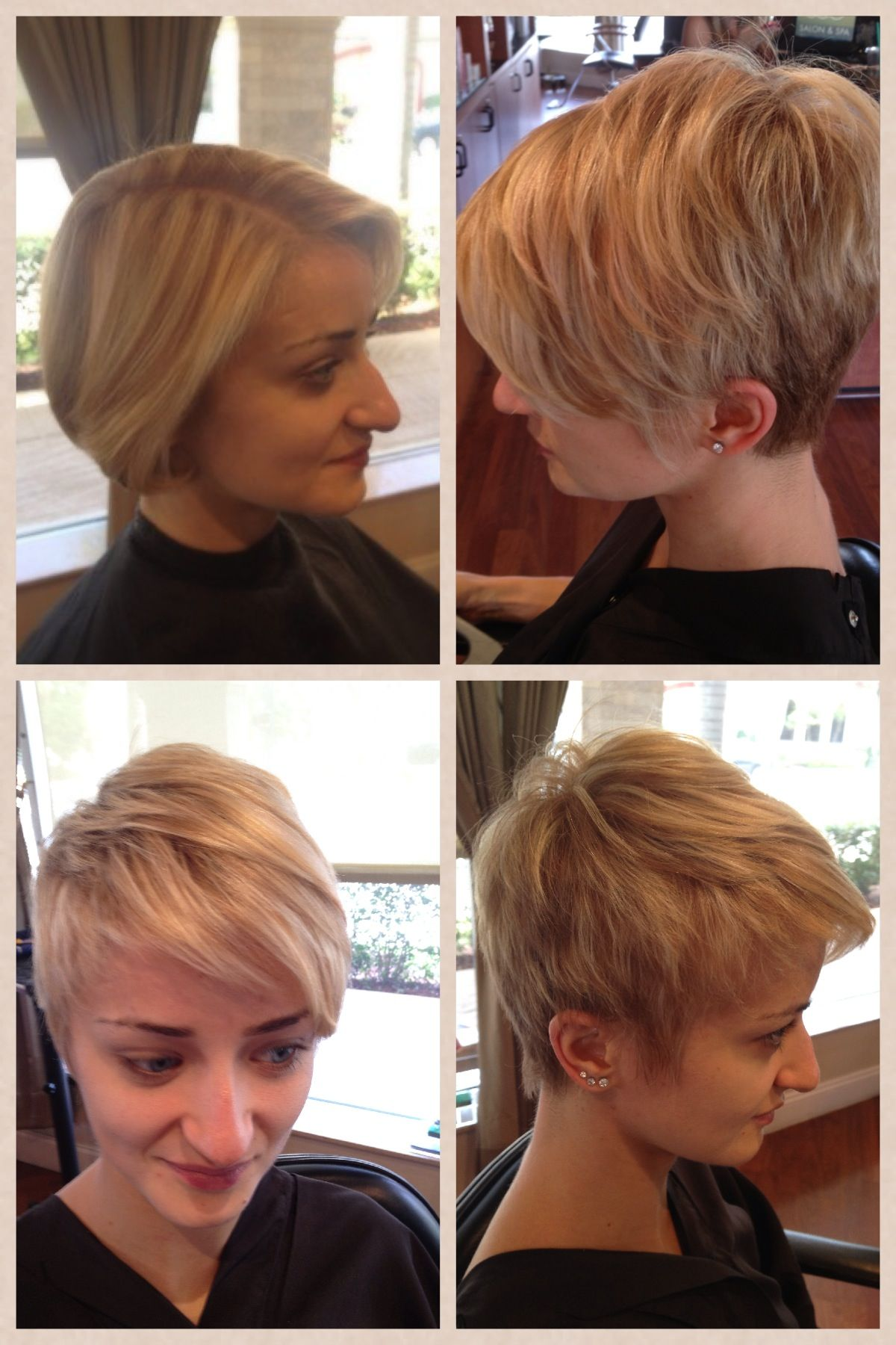 how to cut my own hair into a bob