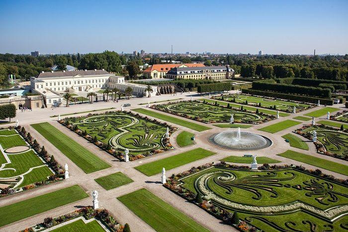 Great Grosser garten grand jardin jardins royaux herrenhausen Hannover Land Basse