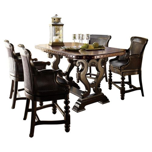 Tommy Bahama Home Kingstown Sienna Bistro Dining Table  Get unbelievable  discounts up to 70 Tommy Bahama Home Kingstown Sienna Bistro Dining Table  Get  . Sienna Collection Black Counter Dining Table. Home Design Ideas