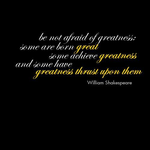 William Shakespeare Quotes Sayings Greatness Greatful Sayings Quotes