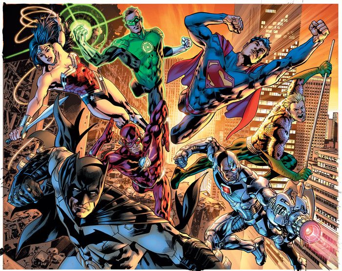 COMICS: Check Out Bryan Hitch\'s Epic JUSTICE LEAGUE OF AMERICA ...