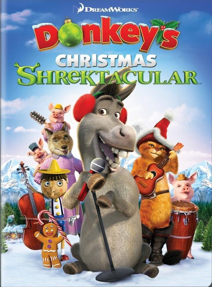 Le Noël Shrektaculaire de l'Âne est un court-métrage d'animation américain réalisé par Walt Dohrn et Raman Hui en 2010. L'Âne à l'idée de présenter une comédie musicale à Fort Fort Lointain. Shrek, ses amis et sa famille interprètent une reprise rock de Jingle Bell...