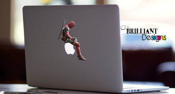 Deadpool Mini Vinyl Decal Sticker Car Window Phone Laptop IPad Marvel Comics New