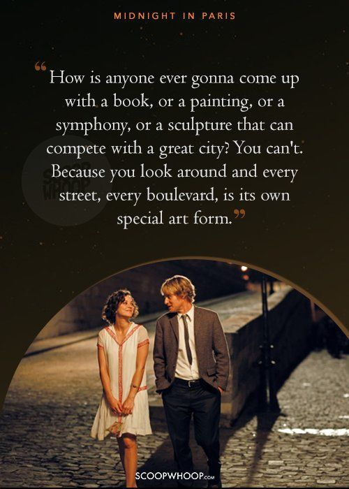 Quote Aesthetic  'Midnight In Paris' Quotes That'll Take You Back In Time & Wrap You In Its Magic & Nostalgia - The Love Quotes | Looking for Love Quotes ? Top rated Quotes Magazine & repository, we provide you with top quotes from around the world