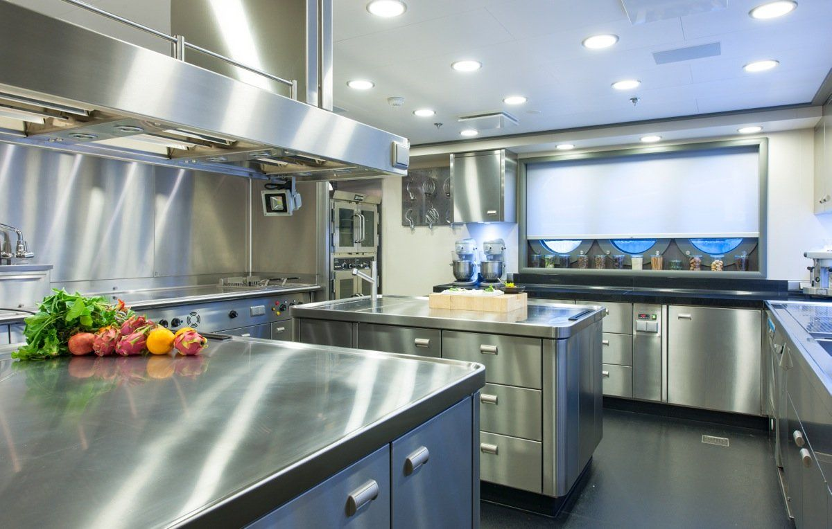 stainless steel mercial kitchen cabinets from Kitchen Images With ...