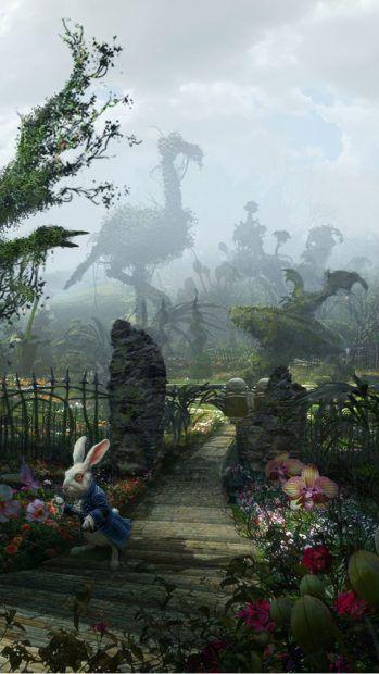 Alice In Wonderland iPhone Wallpaper   PixelsTalk.Net