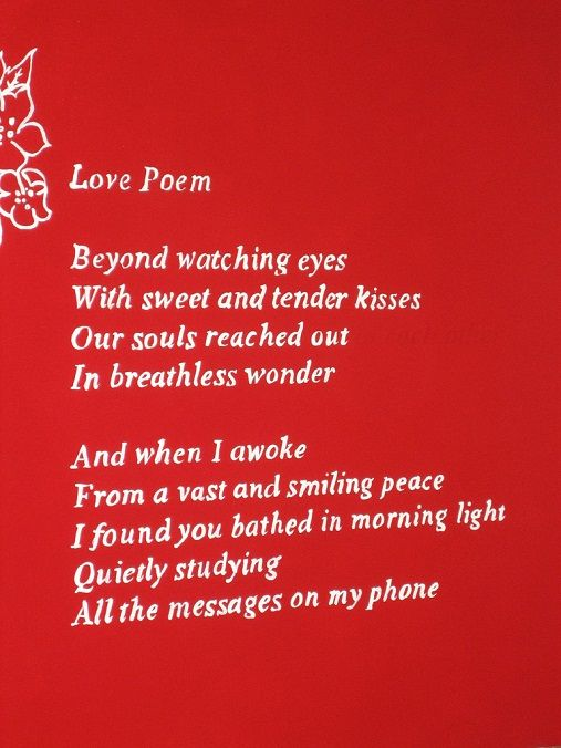Heart touching poems for her