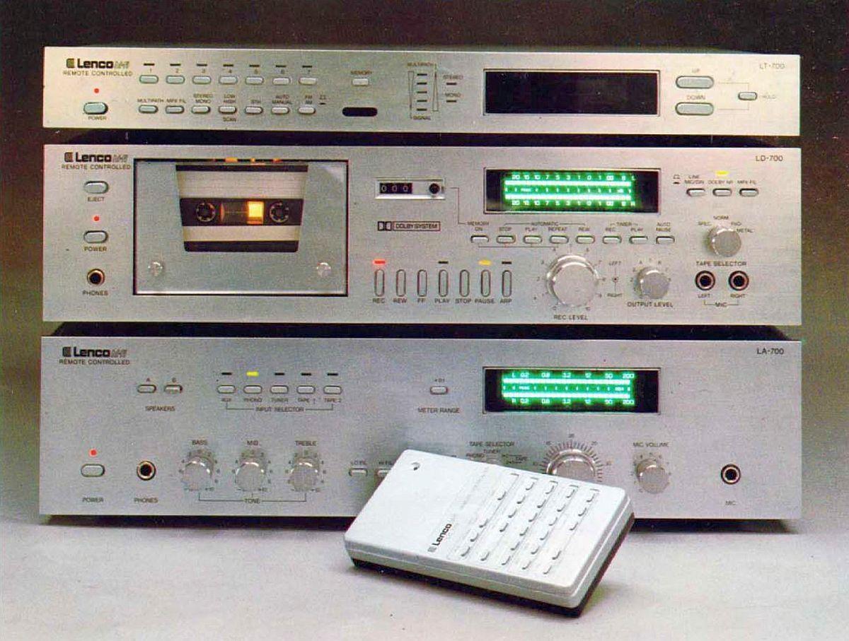 Remote Controlled Hi Fi Lenco 700 Rc 1980 Www 1001hifi Com