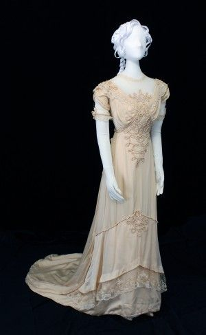 1912 Wedding Dress.